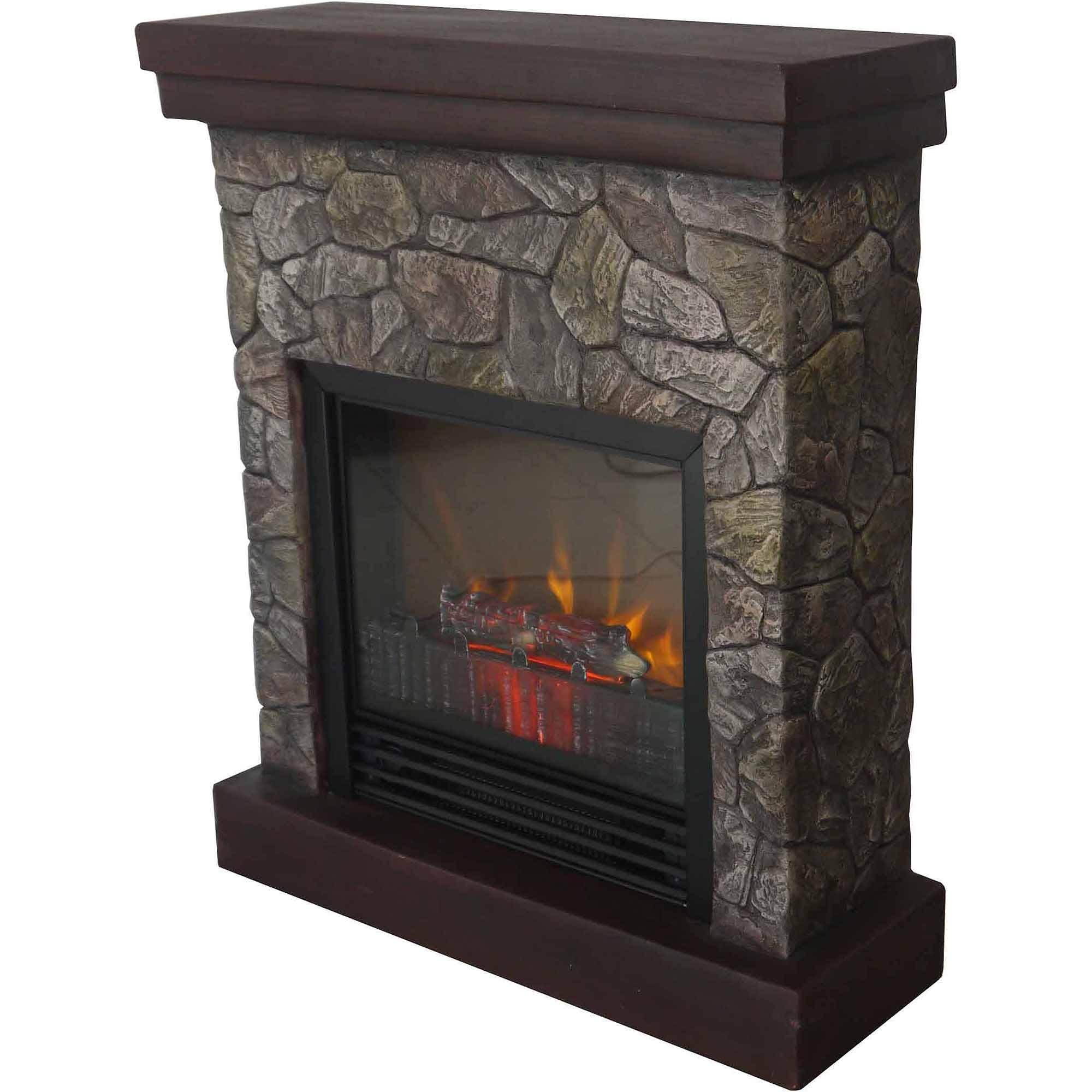 Polyfiber Electric Fireplace with 41 Mantel Dimensions Polyfiber Electric Fireplace with 41 Quot Mantle Walmart Com