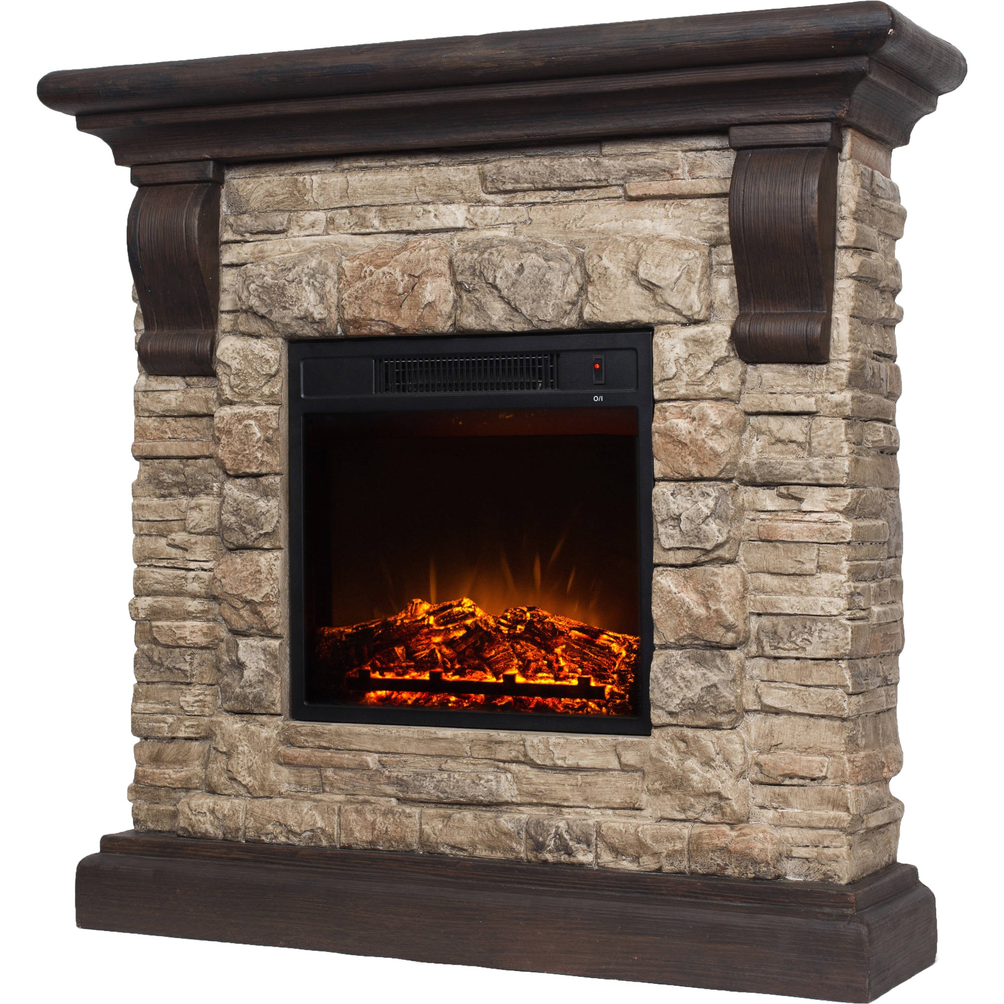 Polyfiber Electric Fireplace with 41 Mantle Polyfiber Electric Fireplace with 41 Quot Mantle Ebay