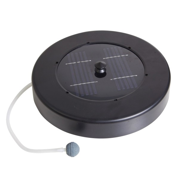 solar floating pond aerator