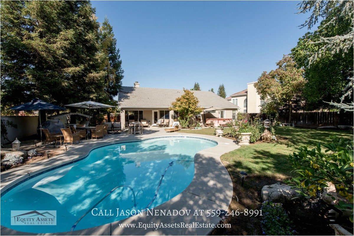 fresno ca pool homes for sale