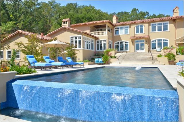lafayette hillside engineered pool mediterranean pool san francisco