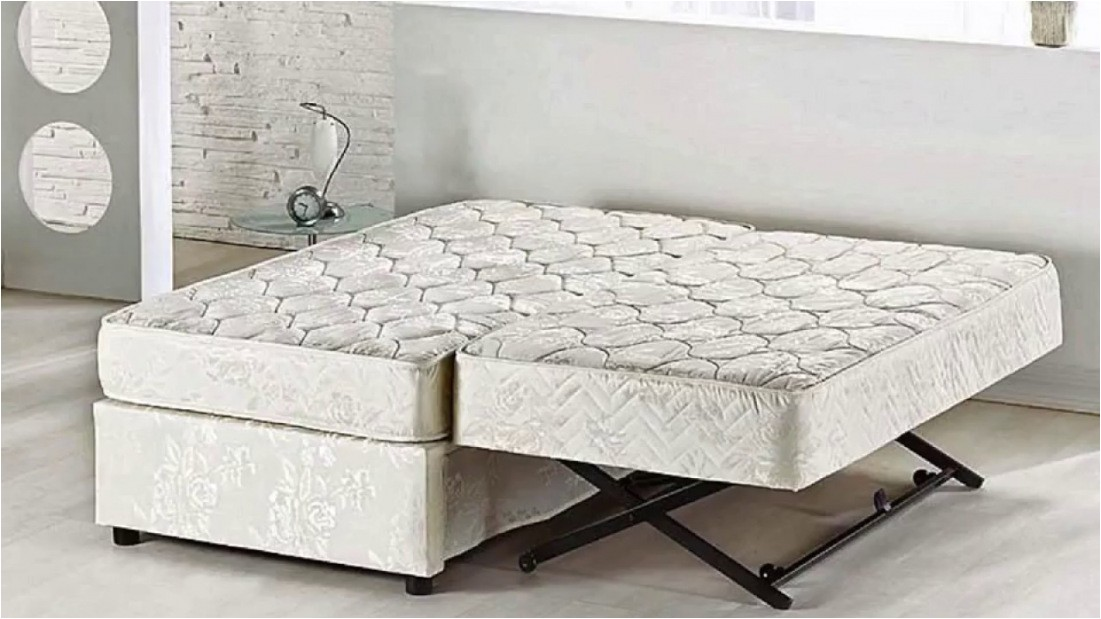 pop up trundle bed twin to king youtube 2