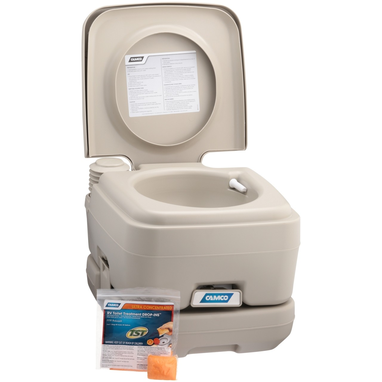 portable bathroom and shower elegant camco portable toilet with rv toilet treatment drop ins walmart