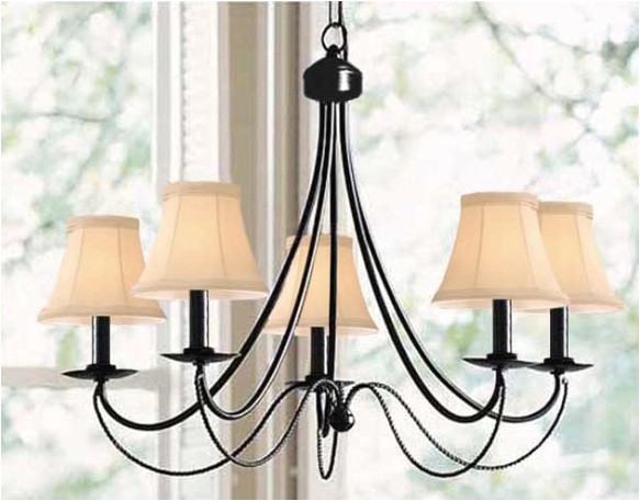 the look for less pottery barn graham chandelier edition