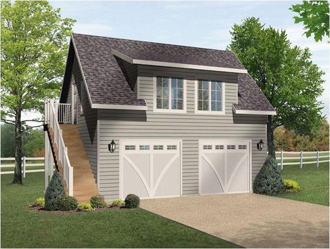 modular garage with apartment