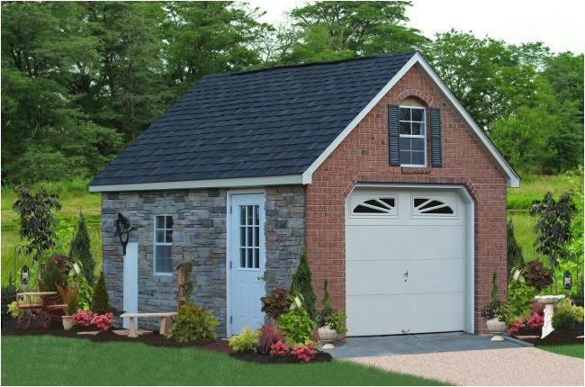 prefab one car garages