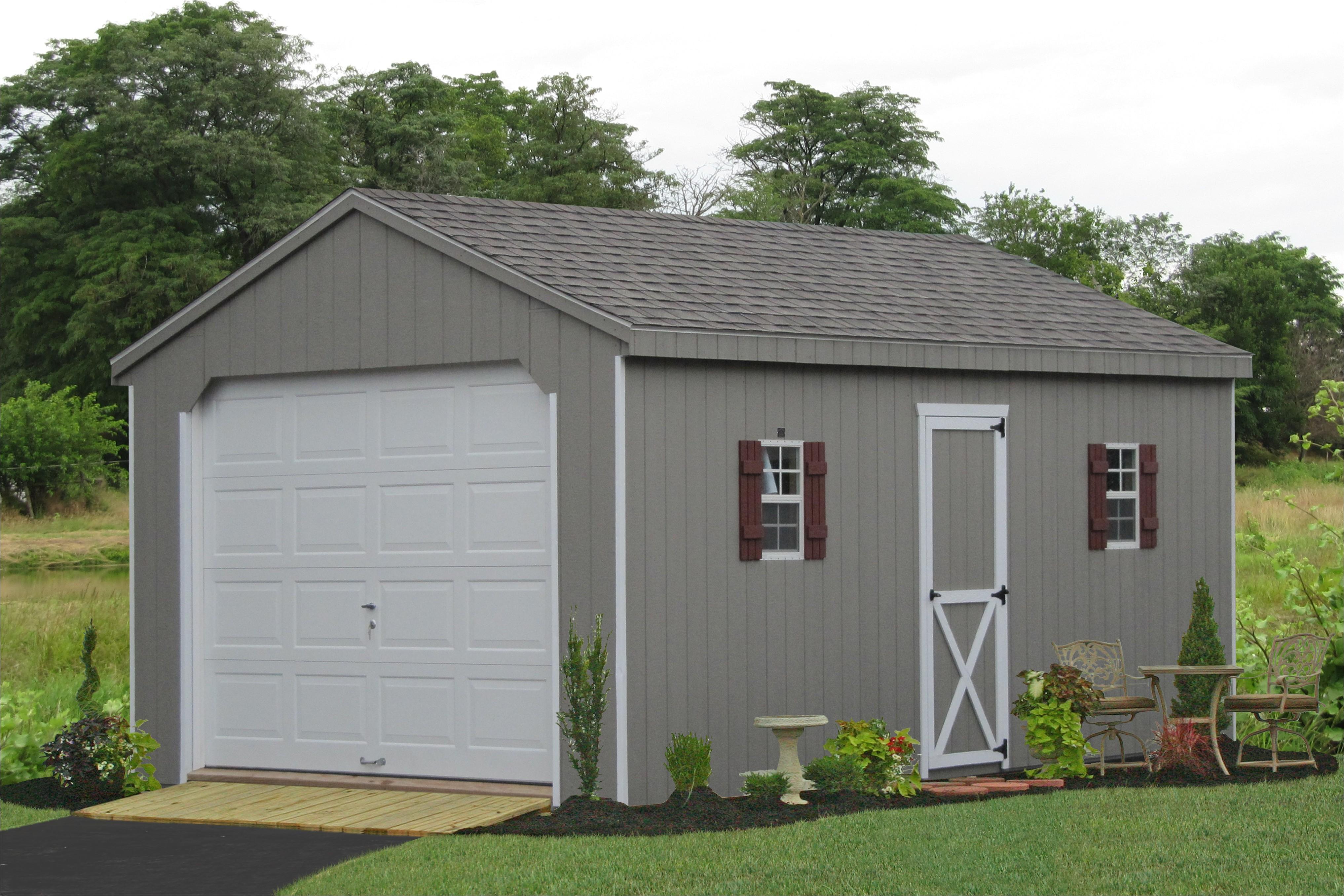 prefab 1 2 3 car garages for sale lancaster pa