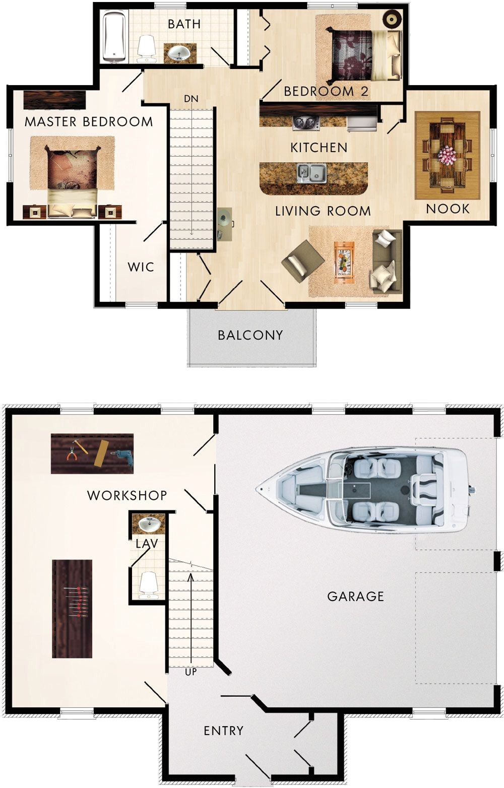 garage with upstairs apartment maybe sauna in back of garage cotswold ii floor plan
