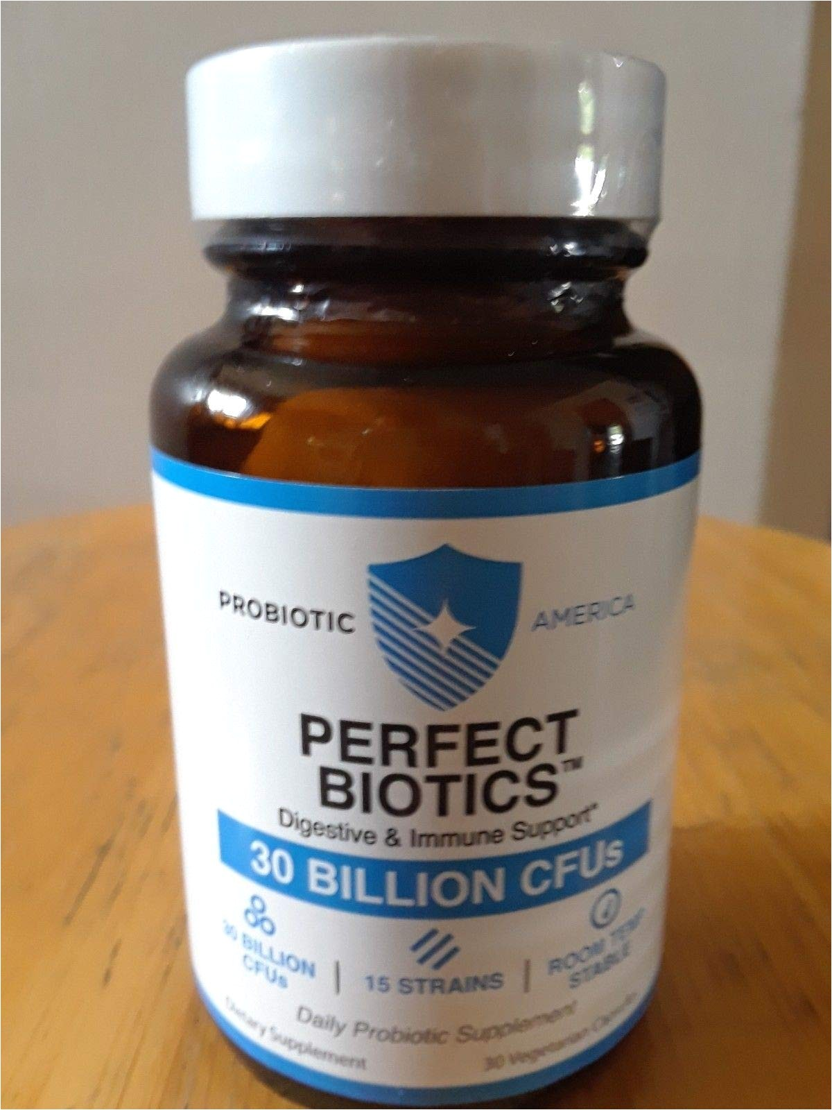 amazon com probiotic america perfect biotics daily probiotic supplement for digestive and immune support 60 capsules health personal care