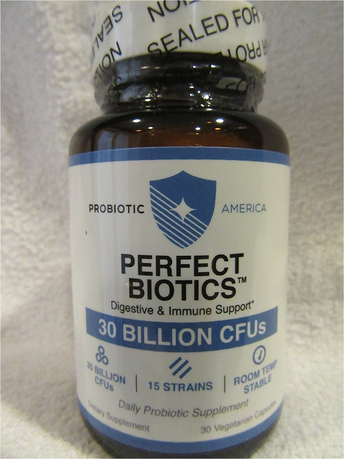probiotic america perfect biotics digestive and immune support 30 billion cfus 15 strains 30 capsule 1 jar walmart com