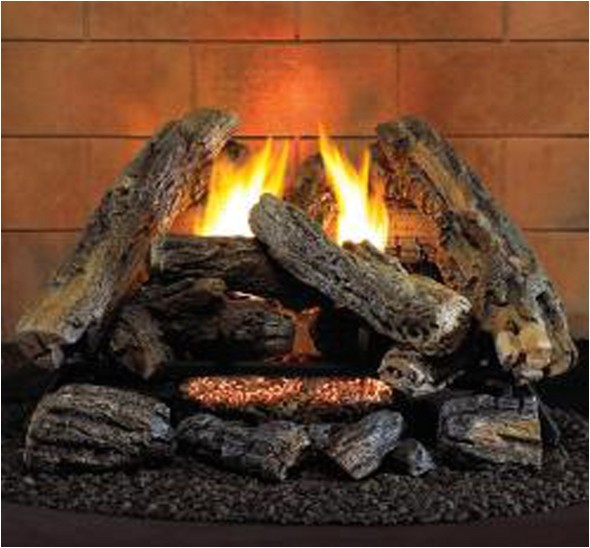 product 299 procom hearthsense a 2 ventless gas logs remote ready 18 or 24 inch propane