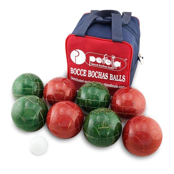 perfetta club pro speckled bocce set