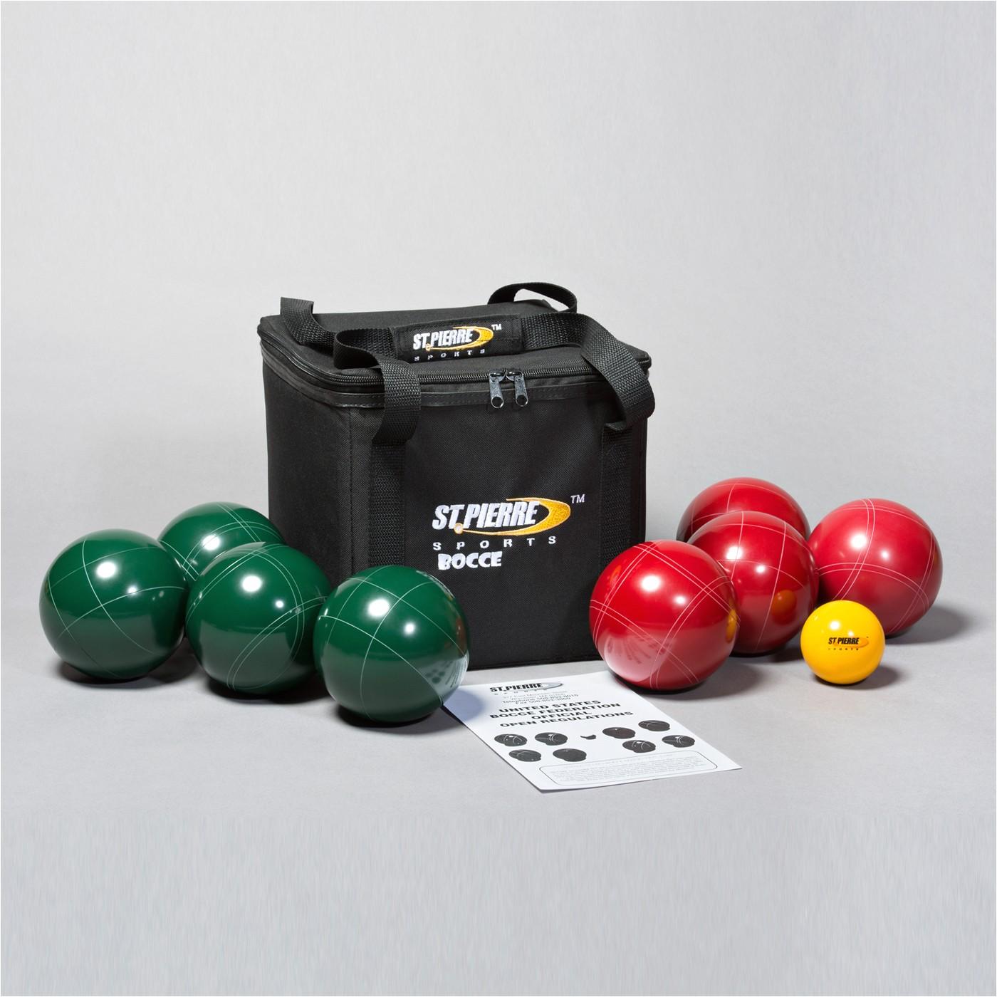 st pierre pb1 professional bocce ball set g2252086