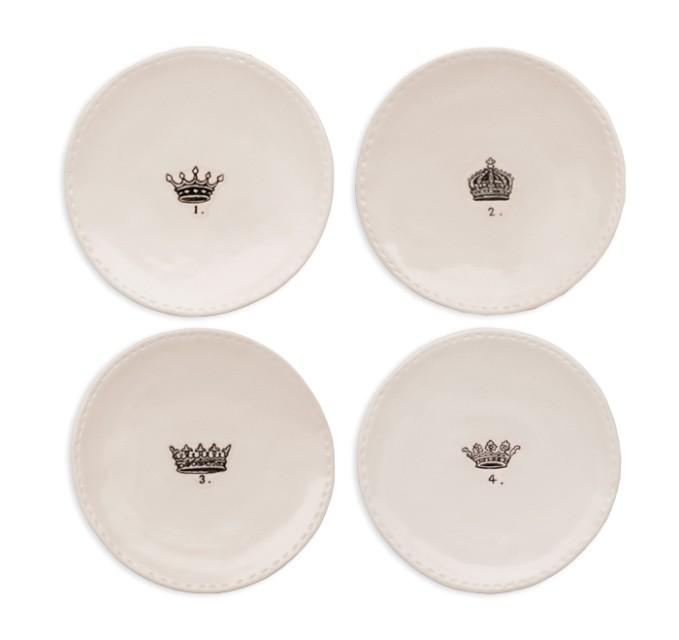 Rae Dunn Christmas Dinner Plates Crown