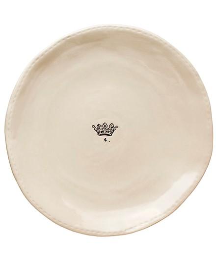 Rae Dunn Crown Dinner Plates Rae Dunn Set Of 4 Crown Dinner Plates Shop Nectar High