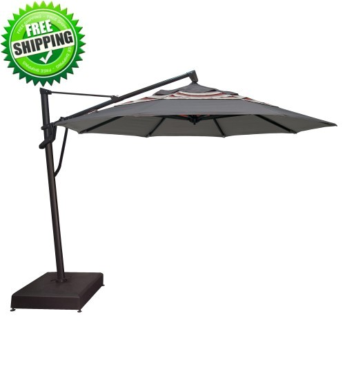 10 octagon ag19 cantilever umbrella custom order with o bravia fabric
