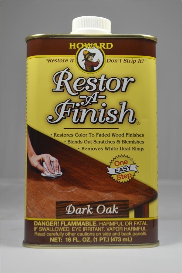 howards restor a finish dark oak 16 oz