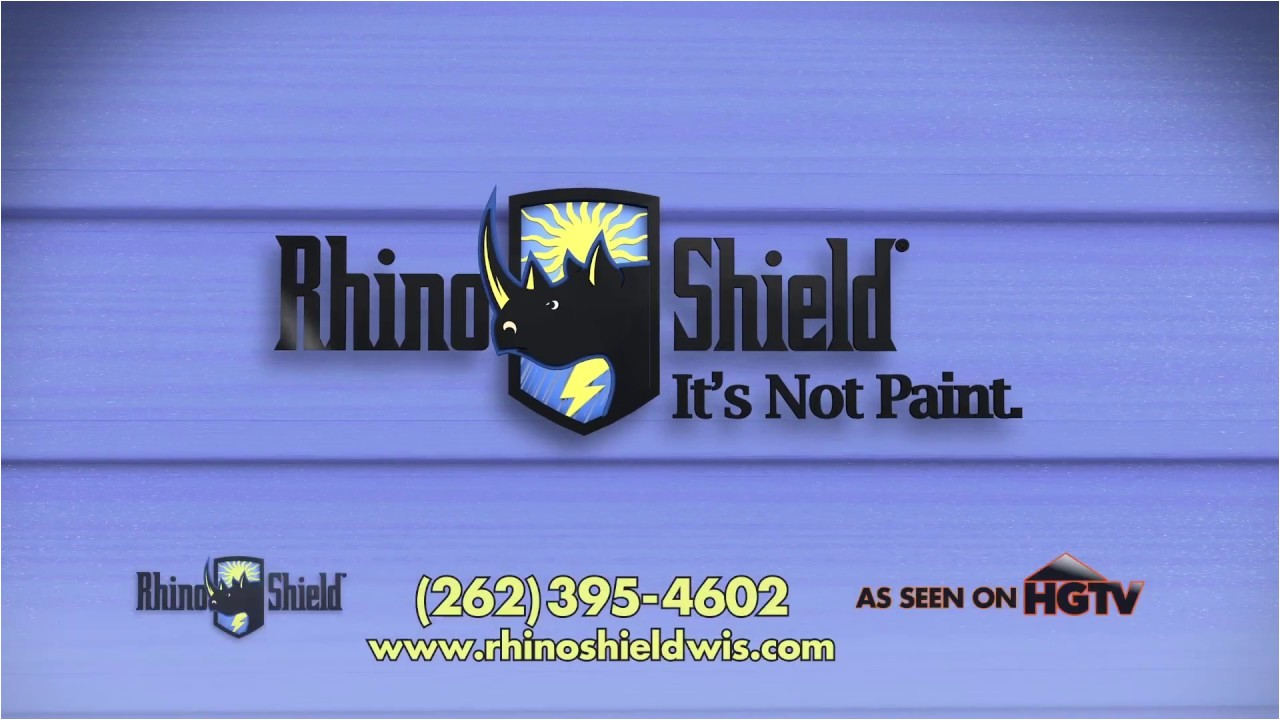 2017 rhino shield tv commercial never paint your house again