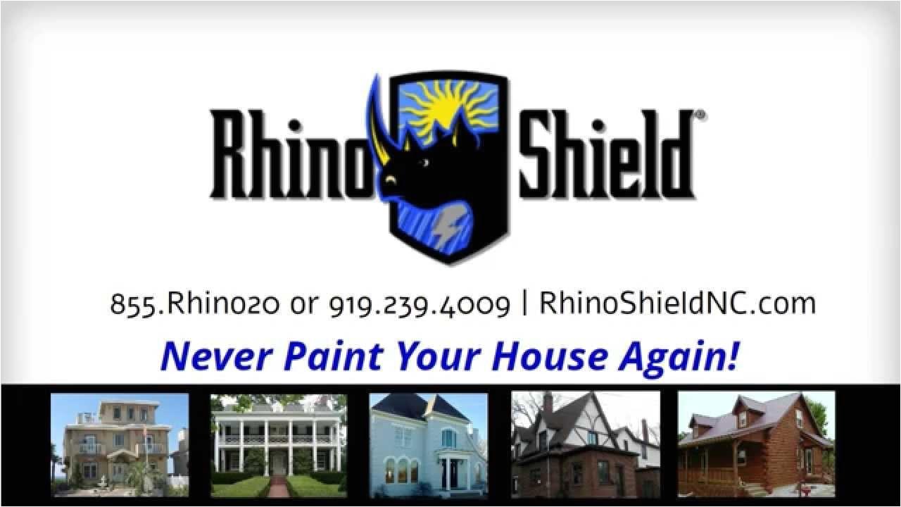 never paint again with rhino shield of north carolina