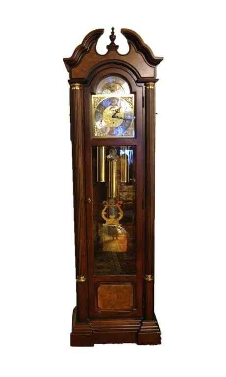 Ridgeway Grandfather Clock Catalog 43 Ridgeway Moon Phase Grandfather Tall Clock Lot 43
