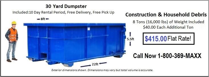 oklahoma city dumpster rentals