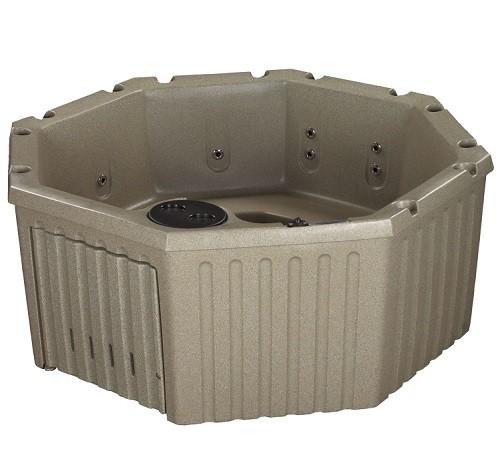 roto molded hot tub