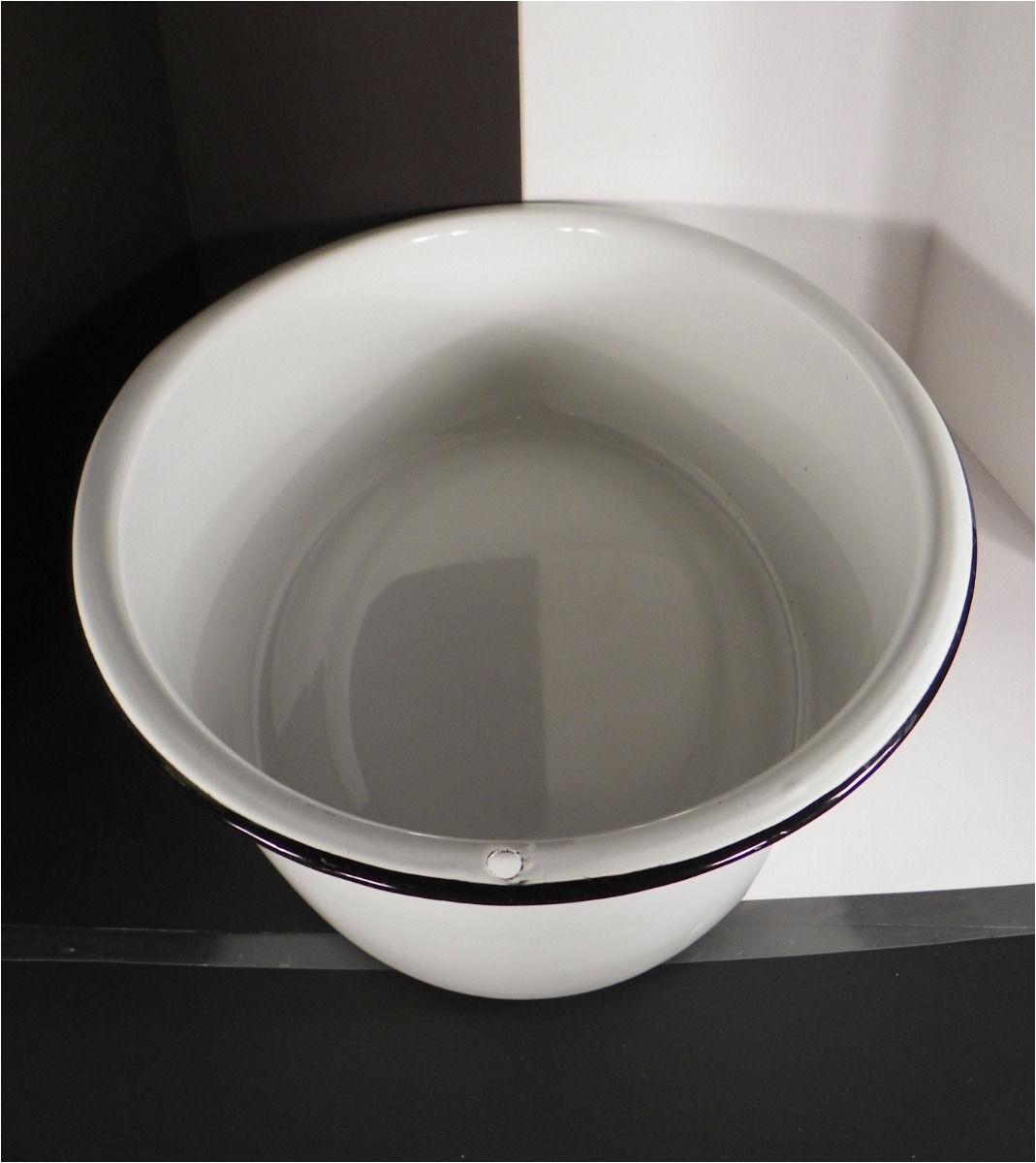 Round as A Dishpan Round as A Dishpan Deep as A Tub In Enticing Huge Vintage