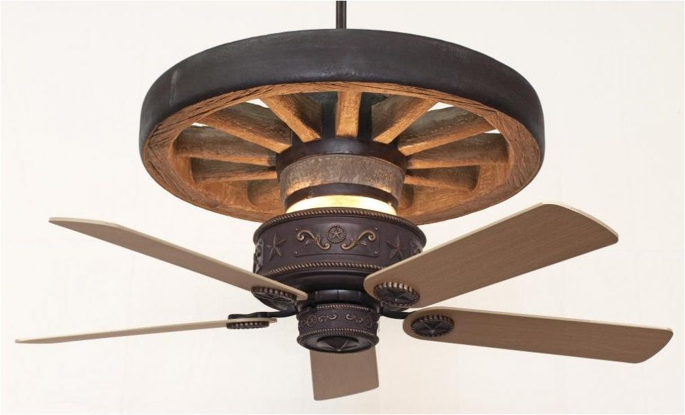 western star wagon wheel ceiling fan