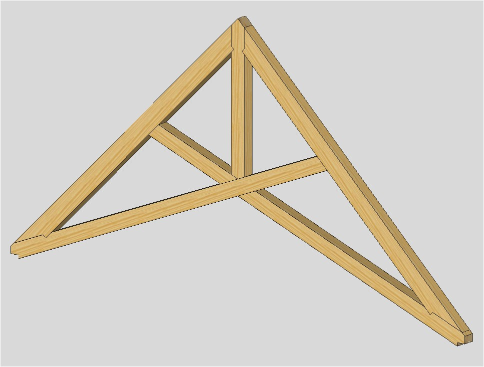 scissor truss design