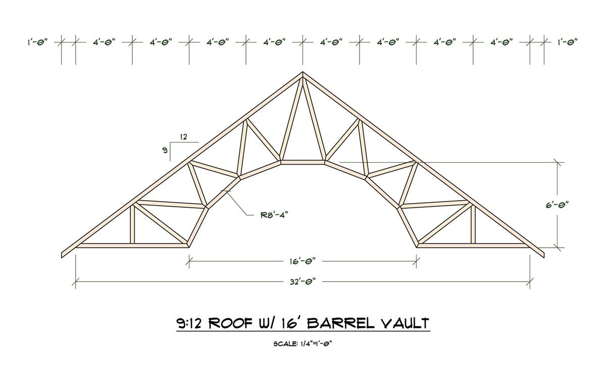 3008 attic roof truss design calculator