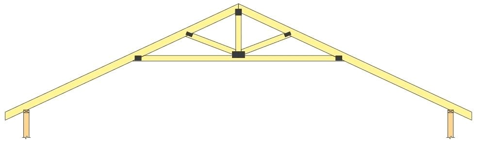 truss design typical roof truss design truss bridge design report