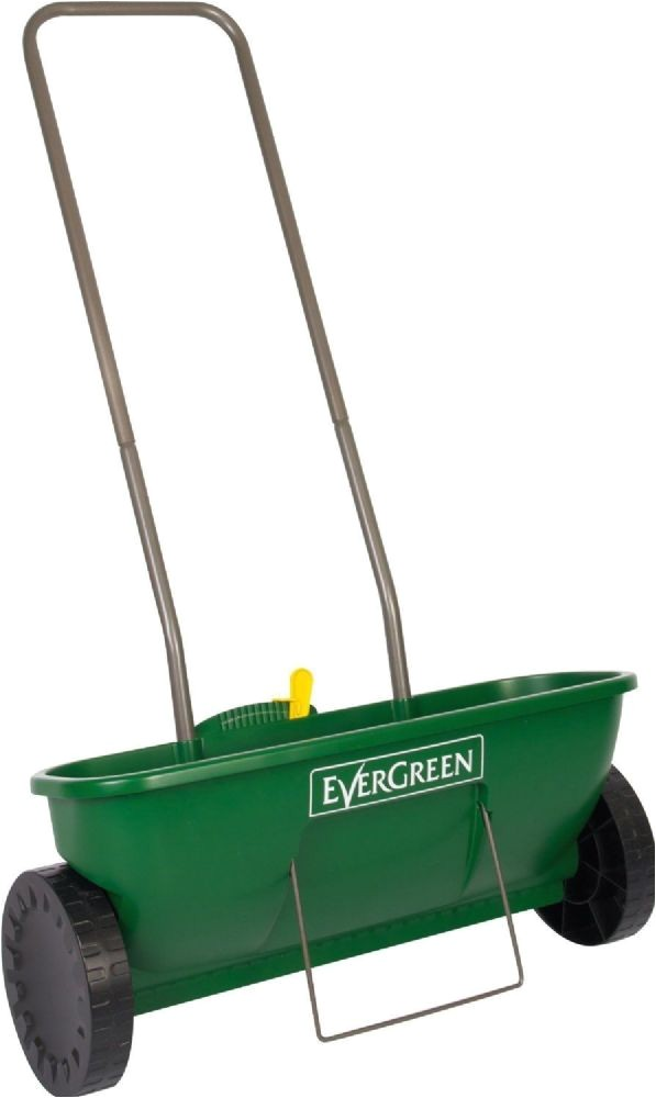 evergreen garden lawn feed fertilizer grass seed easy drop spreader plus 3005 p