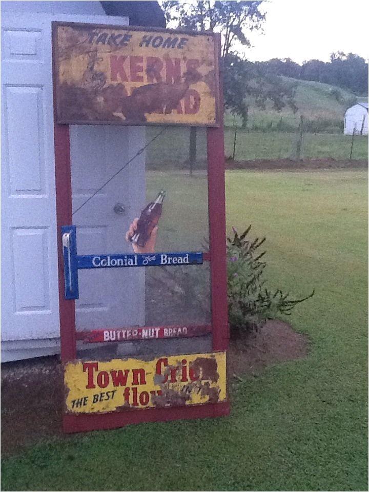 antique screen door push bar
