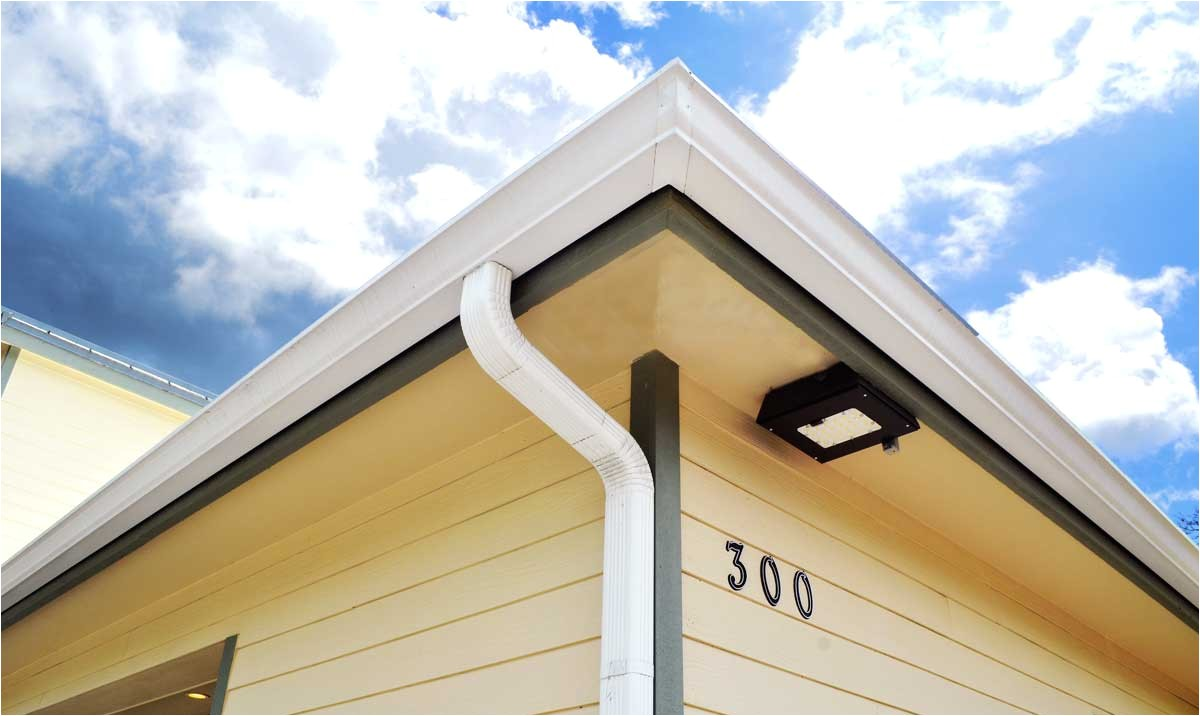 seamless gutters downspouts fascia in a variety of colors