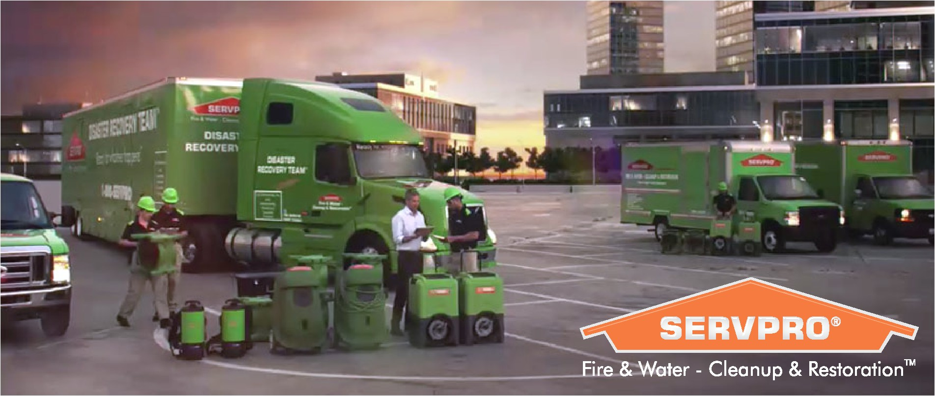 immediate action is the key to controlling the damage and protecting your property you can count on servpro of northbrook wheeling glencoe 24 hours a