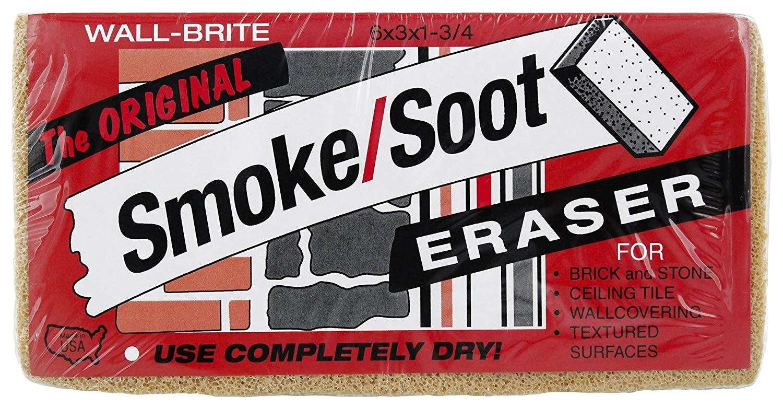 smoke soot eraser sponge 1 pack cleaning sponges amazon com industrial scientific