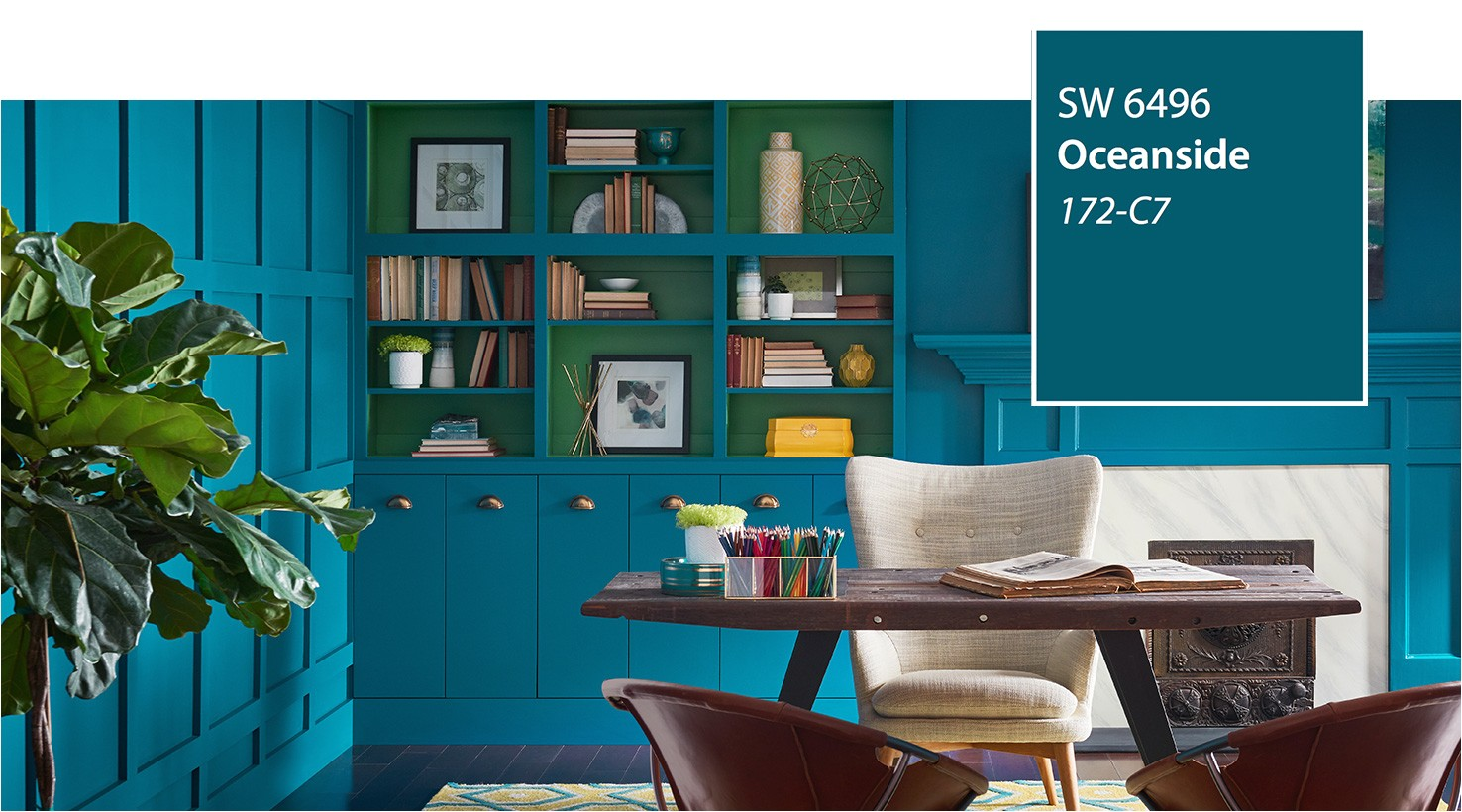 sw color of the year 2018 oceanside sw 6496 slide 1