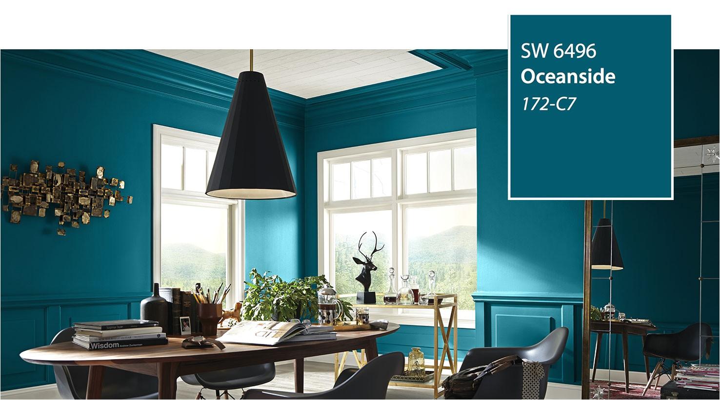 sw color of the year 2018 oceanside sw 6496 slide 4