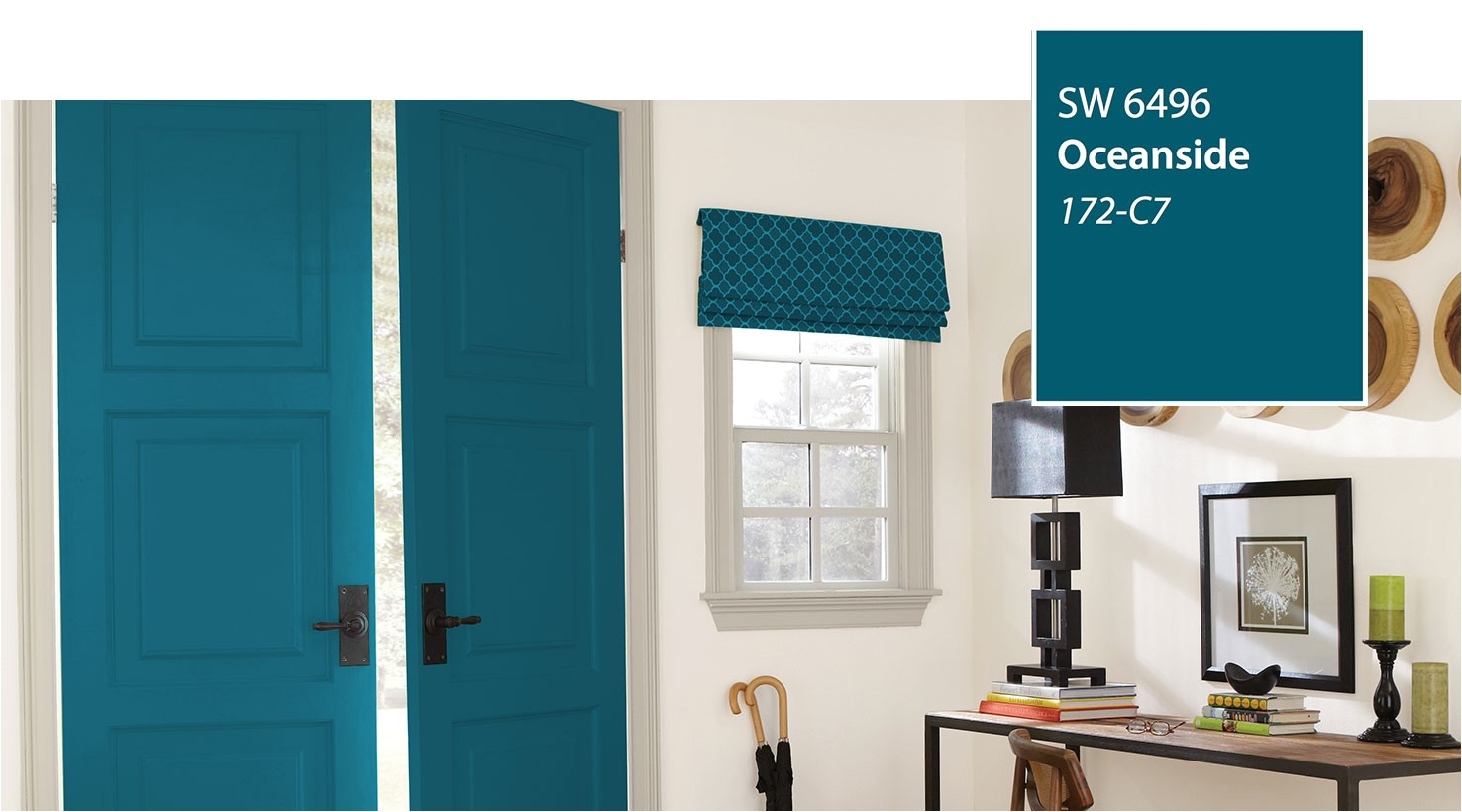 Sherwin Williams Worn Turquoise Paint Number Introducing the 2018 Color Of the Year Oceanside Sw 6496