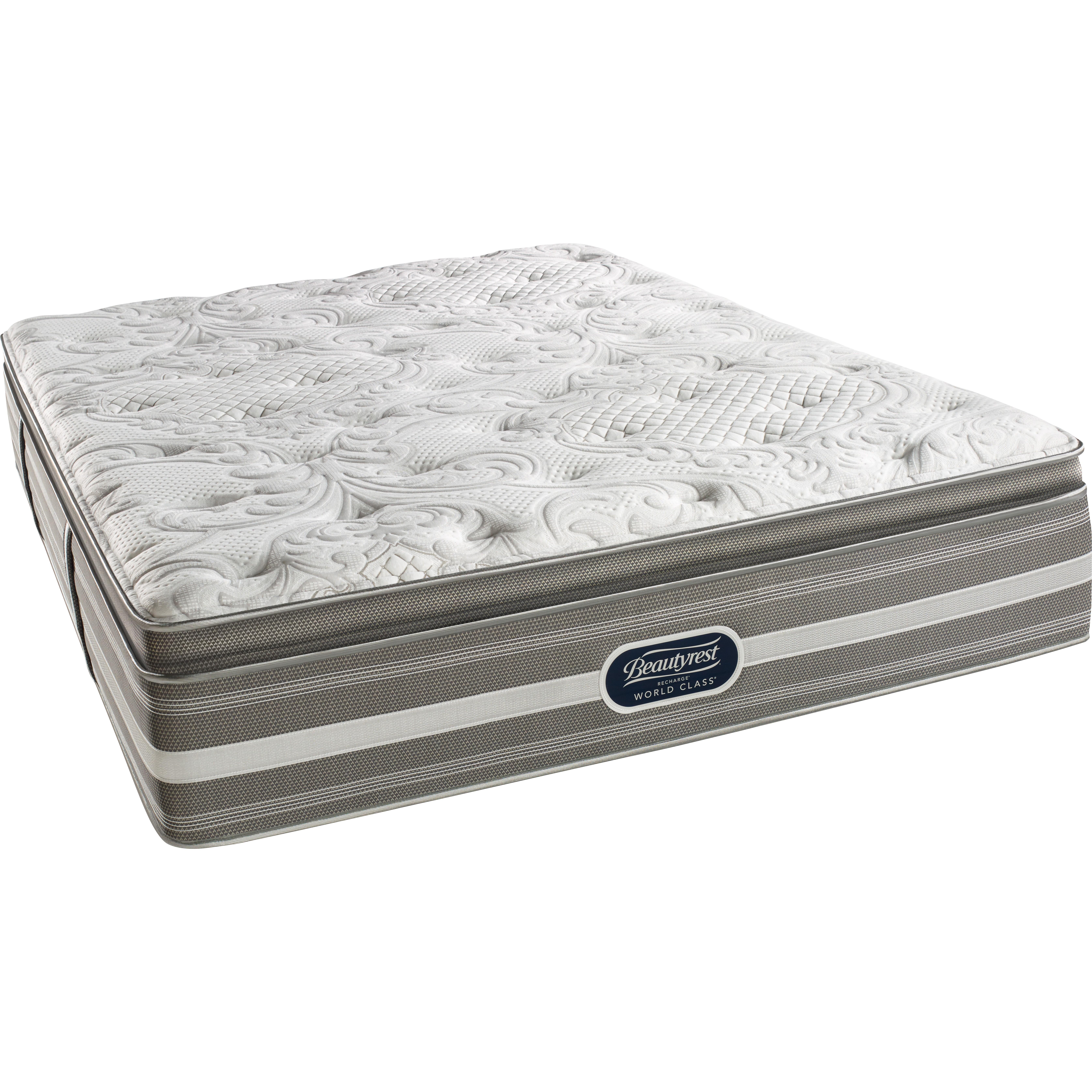 simmons beautyrest beautyrest recharge world class annapolis place plush pillow top mattress m23843 sin2333