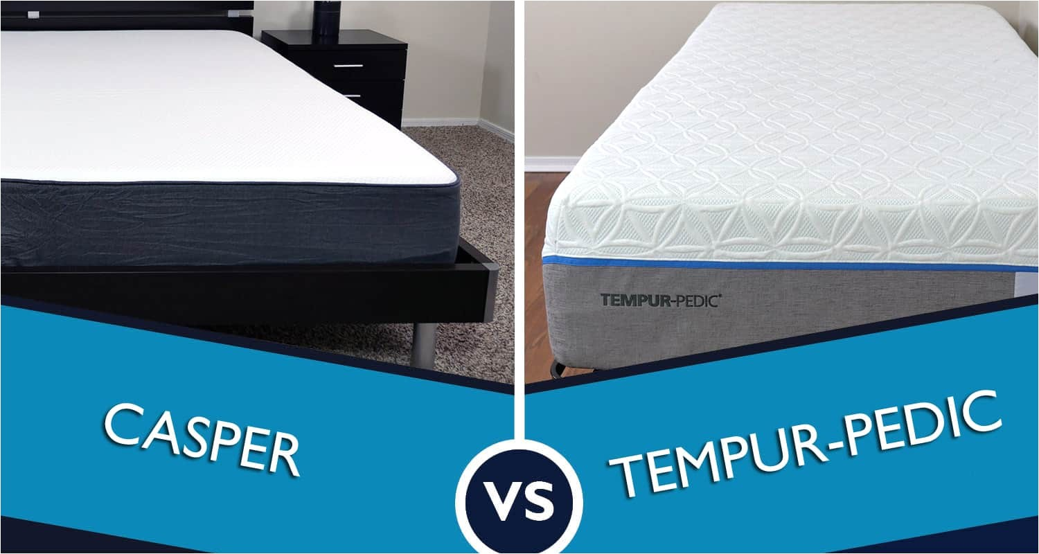 casper vs tempurpedic mattress review battle jpg