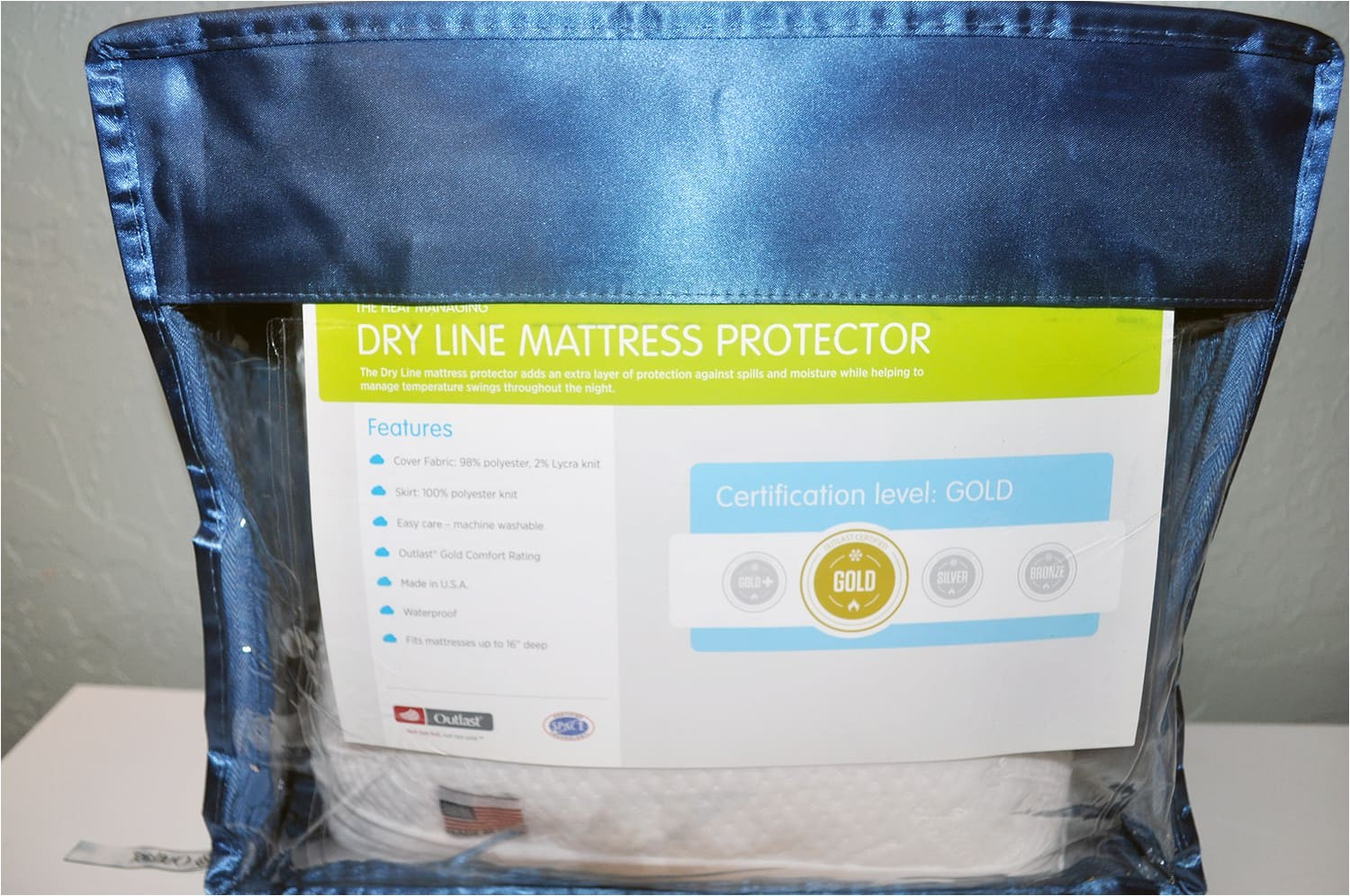slumber cloud dryline mattress protector review