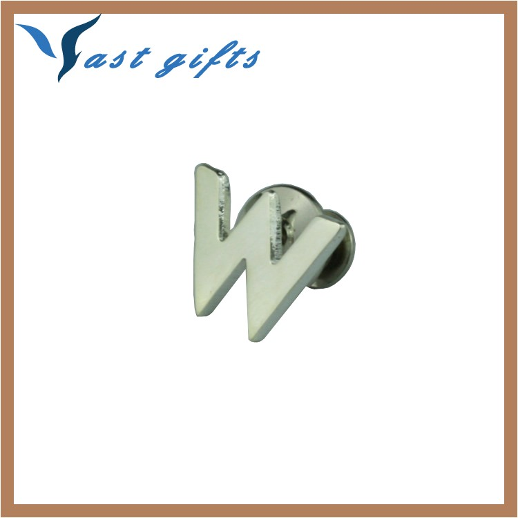 alphabet letter badge pins small metal 60370202650