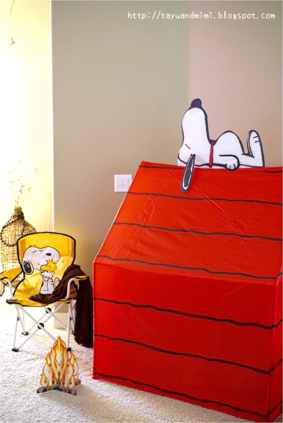 play tent snoopy