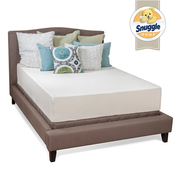 Snuggle Home Mattress Reviews Snuggle Home 12 Quot Medium Tight top Gel Memory Foam Mattress