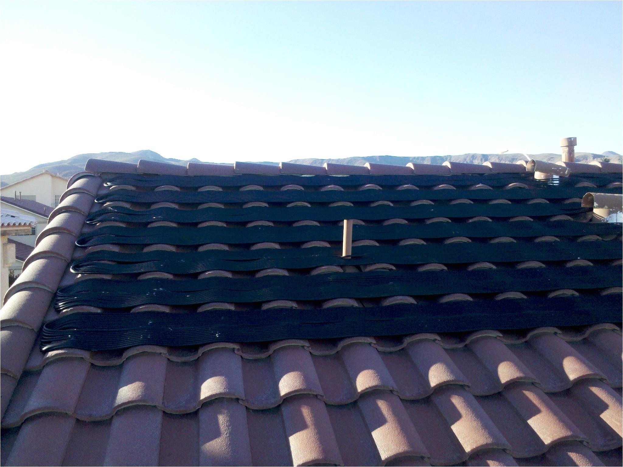 las vegas solar heater
