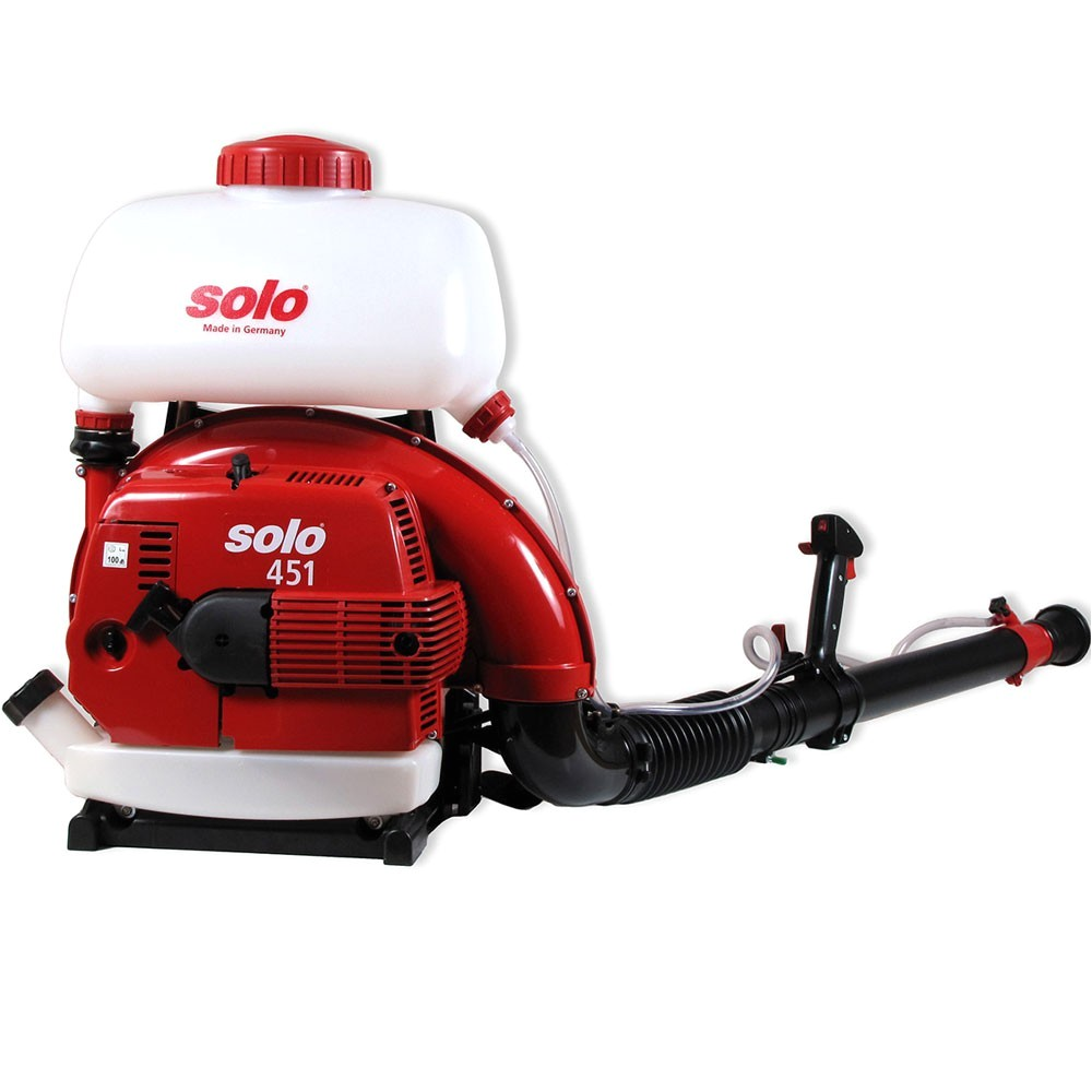 solo 451 backpack mist blower