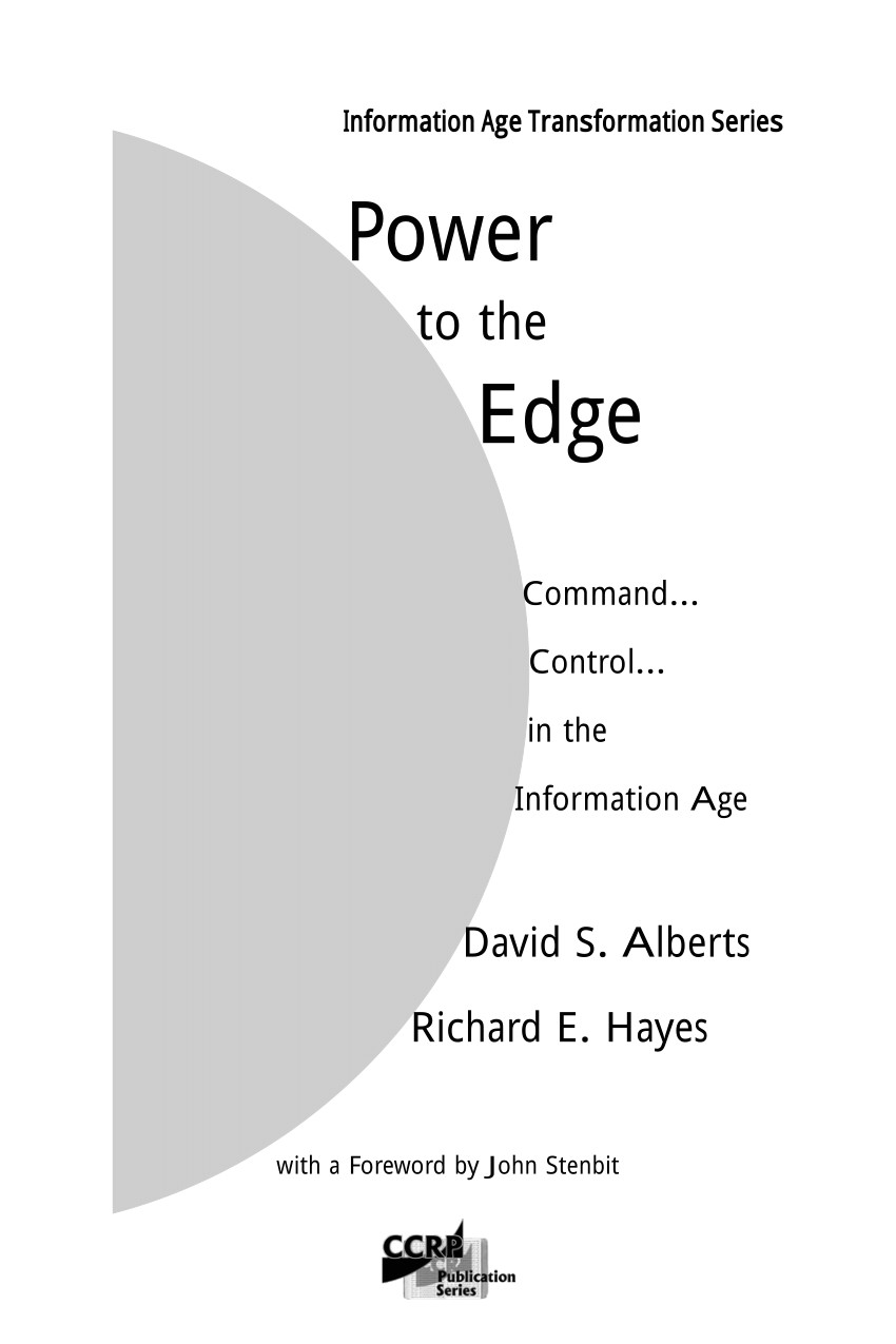 pdf power to the edge command control in the information age