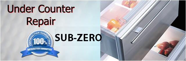 sub zero under counter repair