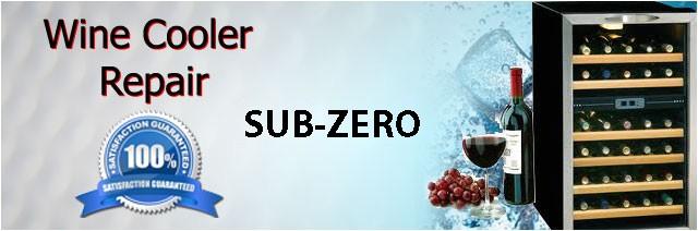 sub zero wine cooler repair